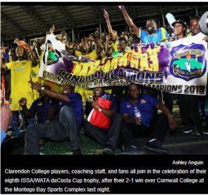 CC daCosta Cup 2019