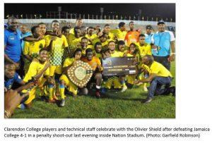 CC 2019 Oliver Shield Winner